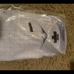 Jos A Bank Reserve Dress Shirt Men Sz 18-35 Purple
